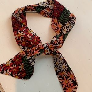 Madewell NWOT Floral Scarf